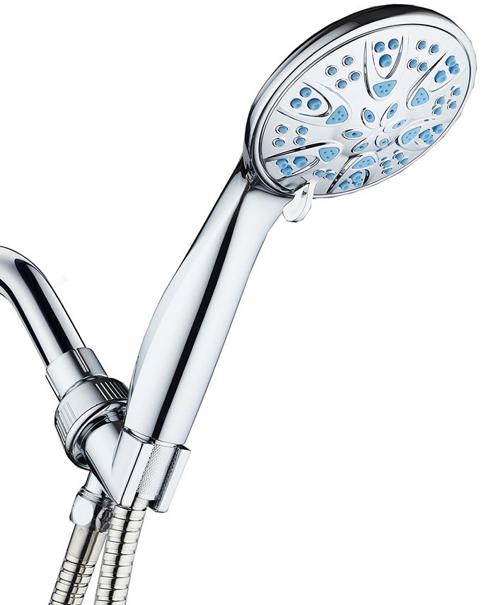 Aquadance - Antimicrobial/Anti-Clog High-Pressure 6-setting Hand Shower
