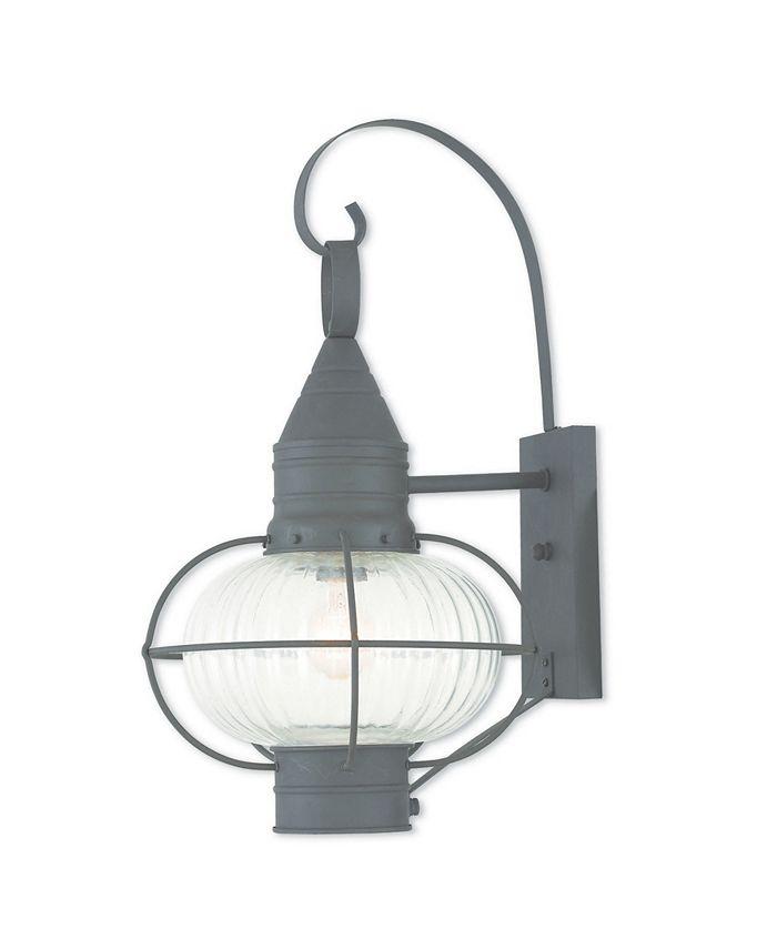 "Livex - Newburyport 1-Light 20.75"" Wall Lantern"