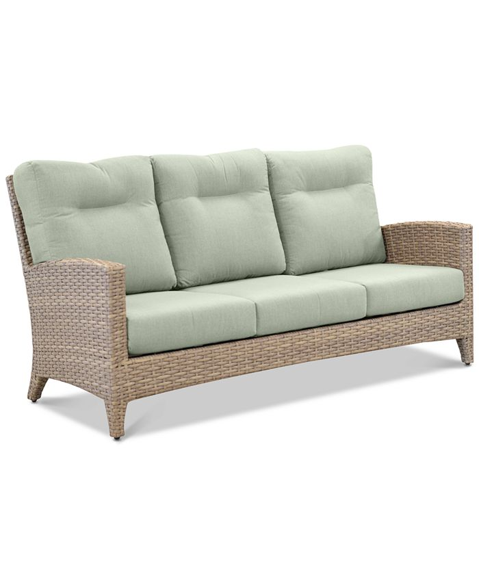 Furniture - Grand Stafford Outdoor Sofa with Sunbrella® Cushions