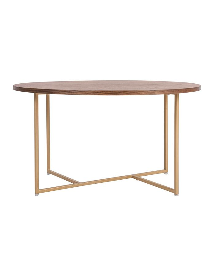 Elle Decor - Ines Round Coffee Table, Quick Ship