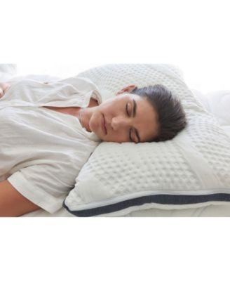 Oceano Adjustable Comfort Gel Memory Foam 3 Chamber Pillow - Queen Size