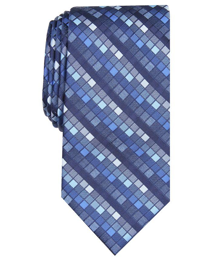 Perry Ellis - Men's Canehill Grid Tie