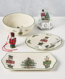 Spode Christmas Tree Nutcracker Dinnerware Collection