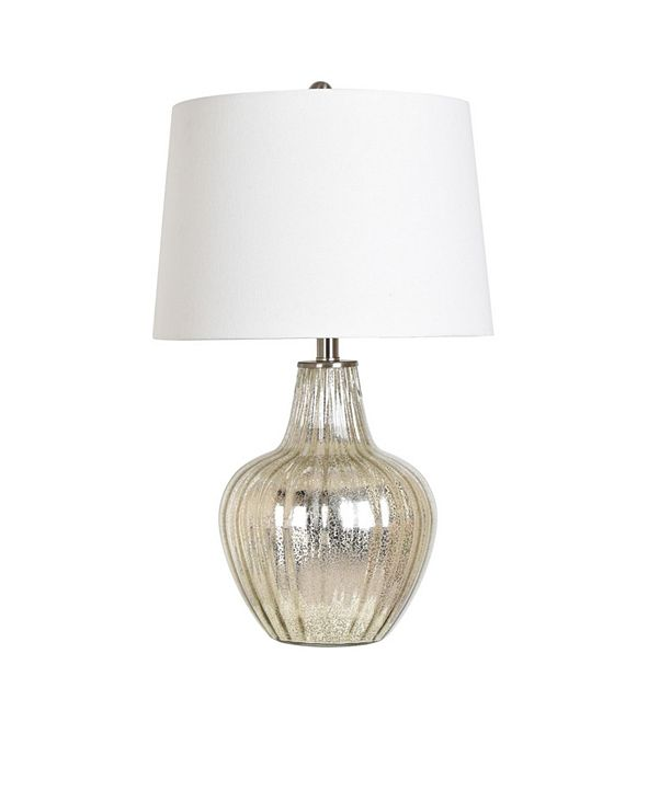 """Crestview Collection 25"""" Glass Table Lamp"""