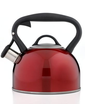 Cuisinart Tea Kettle, Valor Red Metallic
