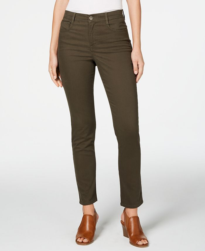 Style & Co - Petite Tummy-Control Skinny Jeans
