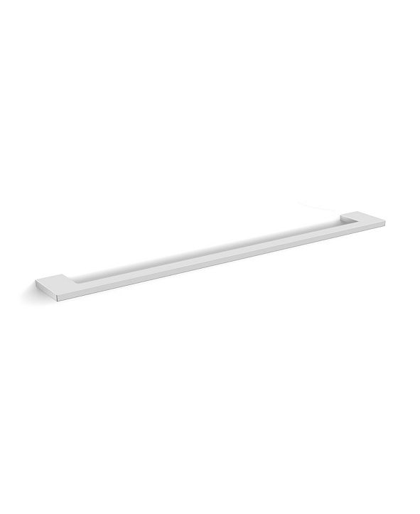WS Bath Collections Luna Towel Bar in Polished Chrome