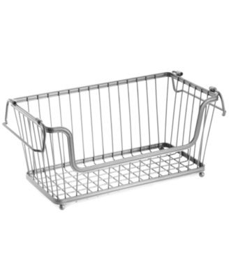 "InterDesign Open Basket, 12"" Chrome"