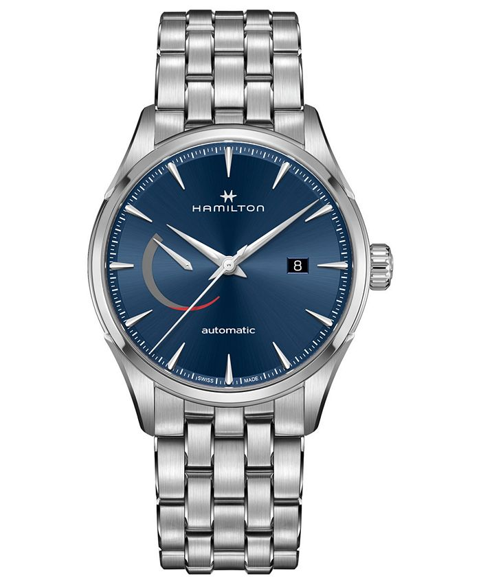 Hamilton - Men's Swiss Automatic Jazzmaster Stainless Steel Bracelet Watch 42mm