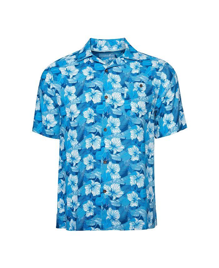 Caribbean Joe - Classic Camp Short Sleeve Island Shirt