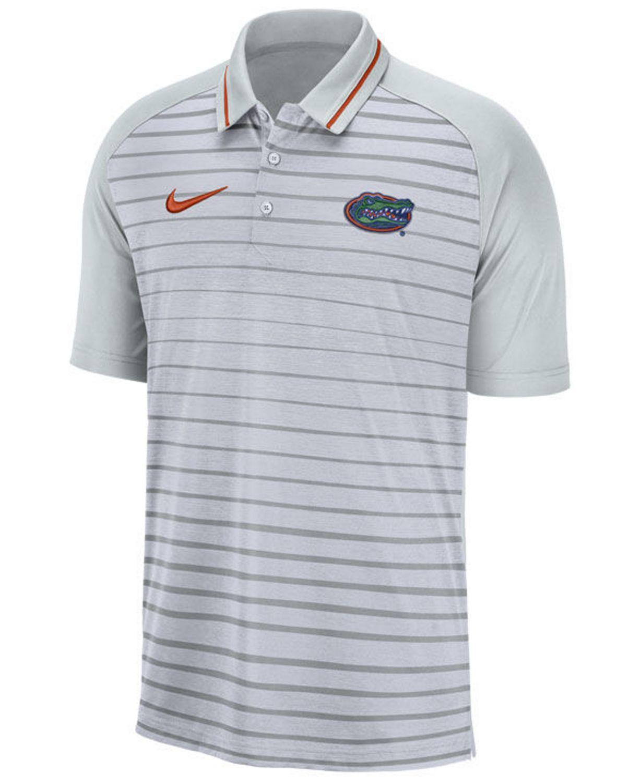 Nike Men's Florida Gators Stripe Polo & Reviews - Sports Fan Shop By Lids - Men - Macy's