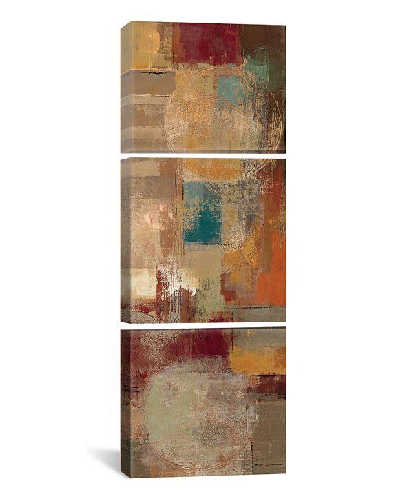 "iCanvas Oriental Trip Panel Ii by Silvia Vassileva Gallery-Wrapped Canvas Print - 36"" x 12"" x 1.5"""
