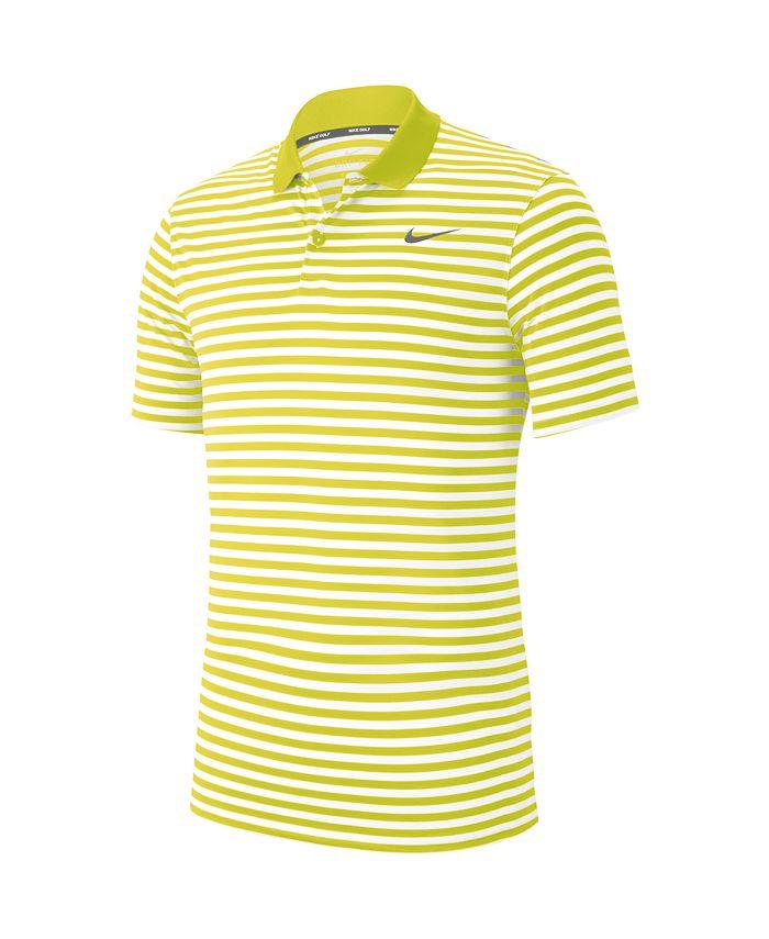 Nike Men's Golf Victory Striped Polo & Reviews - Polos - Men - Macy's