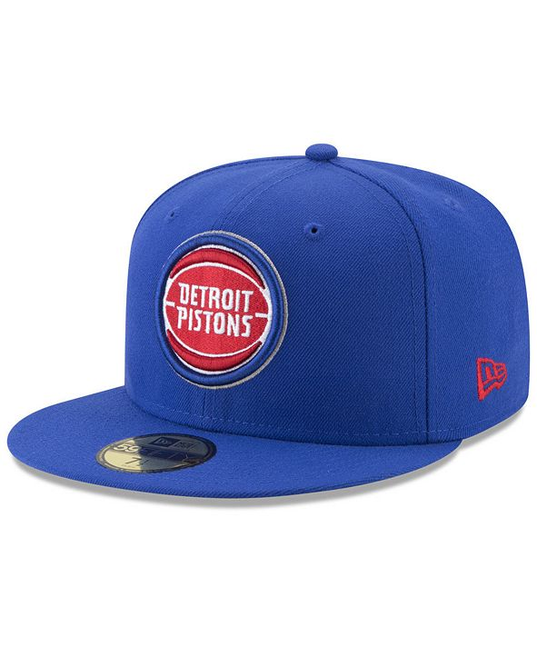 New Era Detroit Pistons Basic 59FIFTY Fitted Cap