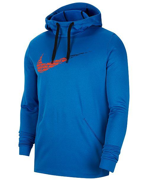 Nike Men's Therma Logo Hoodie & Reviews - Men - Macy's