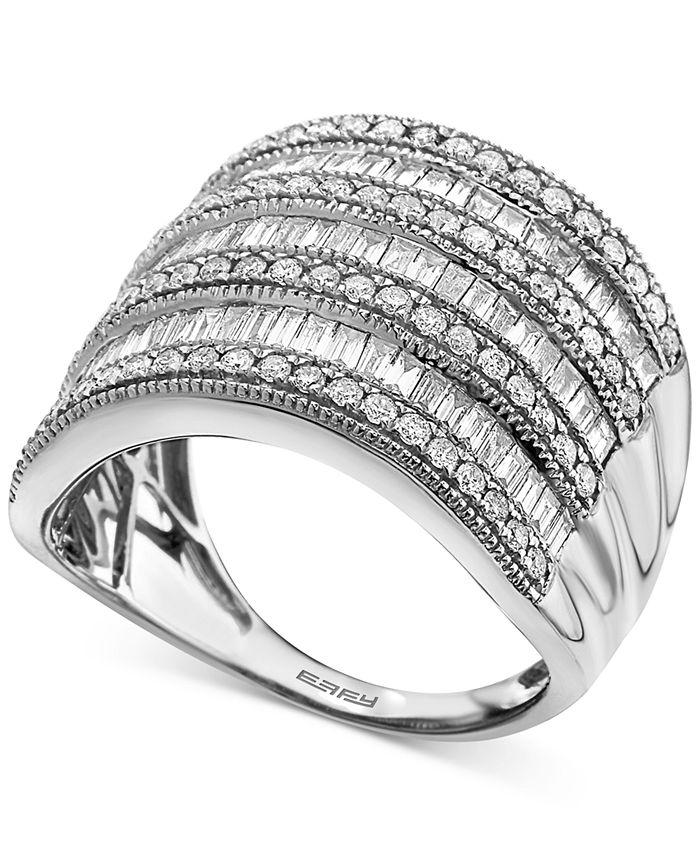 EFFY Collection - Diamond Multi-Row Statement Ring (1-1/2 ct. t.w.)