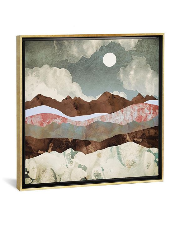 """iCanvas Cloudy Night by Spacefrog Designs Gallery-Wrapped Canvas Print - 26"""" x 26"""" x 0.75"""""""