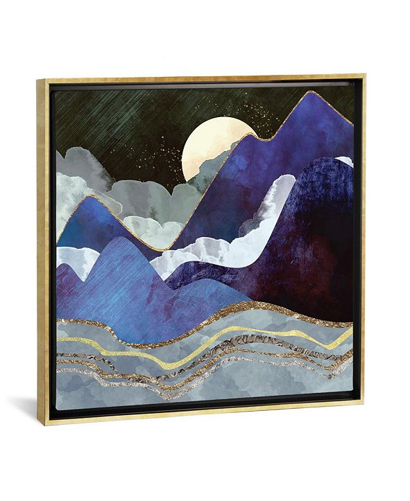 "iCanvas Midnight by Spacefrog Designs Gallery-Wrapped Canvas Print - 26"" x 26"" x 0.75"""