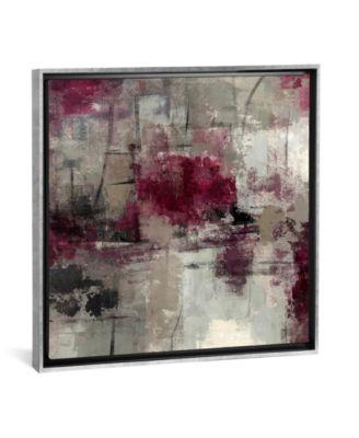 "Stone Gardens Iii by Silvia Vassileva Gallery-Wrapped Canvas Print - 37"" x 37"" x 0.75"""