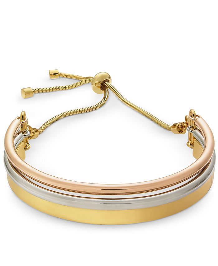 Alfani - Curved Bar Bolo Bracelet