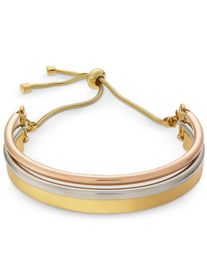 Alfani Curved Bar Slider Bracelet, Created for Macy's  & Reviews - Bracelets - Jewelry & Watches - Macy's