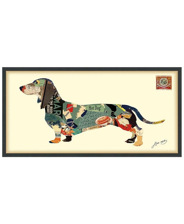 Empire Art Direct Dachshund Dimensional Collage Wall 25 X 48 Reviews All Decor Home Macy S