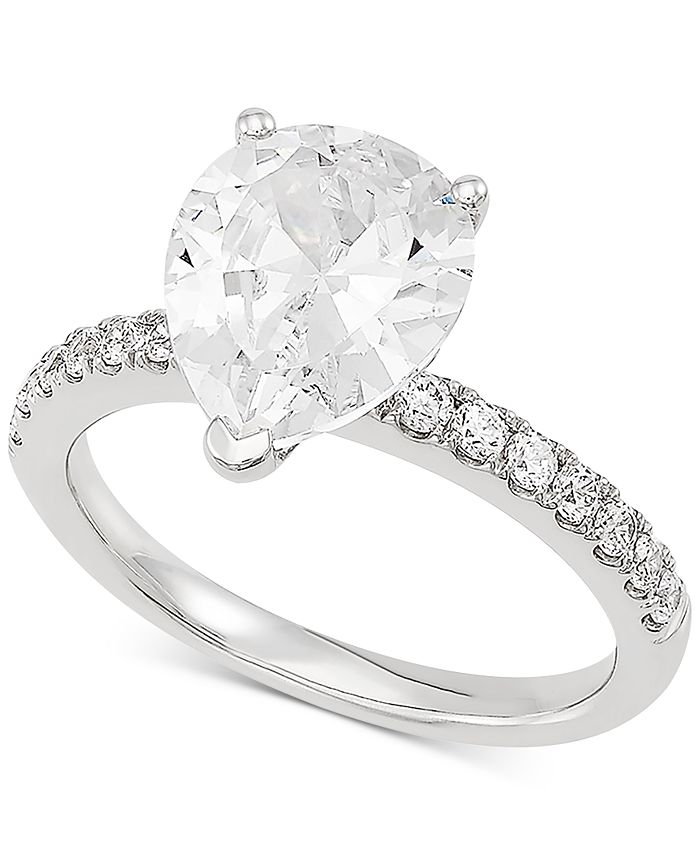 Grown With Love - Lab Grown Diamond Engagement Ring (2-1/3 ct. t.w.) in 14k White Gold