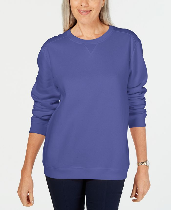 Karen Scott - Fleece Sweatshirt