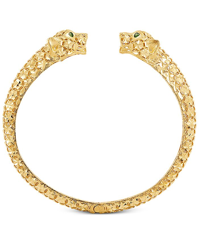 EFFY Collection - Panther Cuff Bracelet in 14k Gold