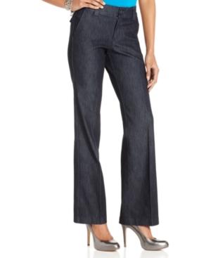 Lee Platinum Monaco Trouser Straight-Leg Jeans, Indigo Rinse Wash