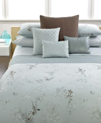 Calvin Klein Home Tinted Wake Queen Fitted Sheet