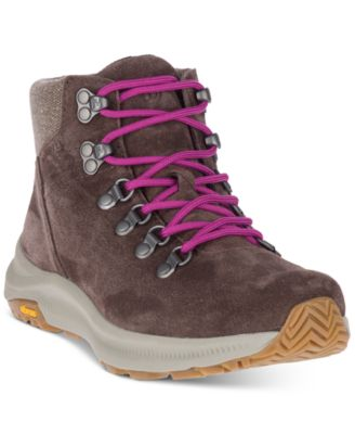Ontario Suede Mid Hiking Boots