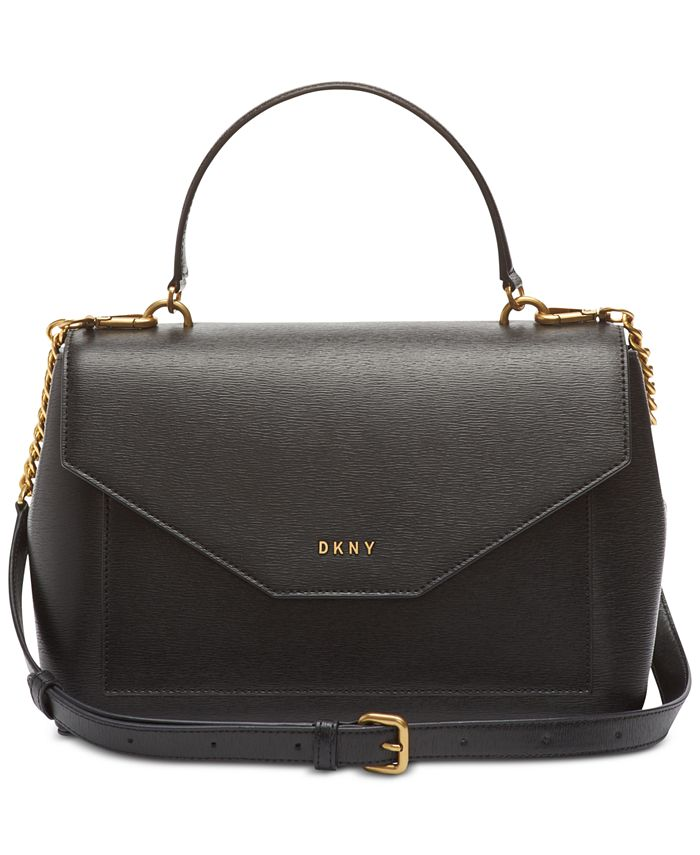 DKNY - Alexa Leather Top Handle Satchel