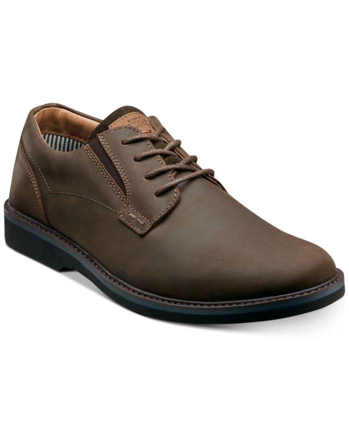 Nunn Bush Men's Barklay Plain-Toe Lace-Up Oxfords & Reviews - All Men's Shoes - Men - Macy's