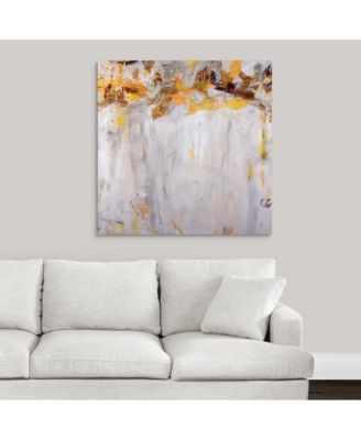 Beethoven in Yellow' Framed Canvas Wall Art, 36