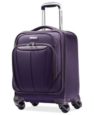 """CLOSEOUT! Samsonite Silhouette Sphere 17"""" Carry On Spinner Boarding Suitcase"""