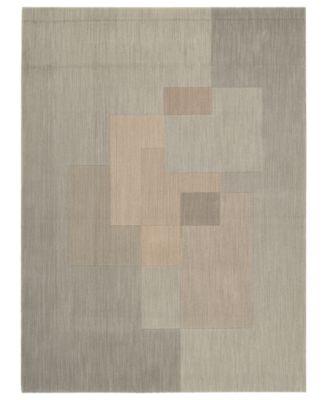 "CK11 Loom Select Neutrals LS01 Overlay Driftwood 3'6"" x 5'6"" Area Rug"