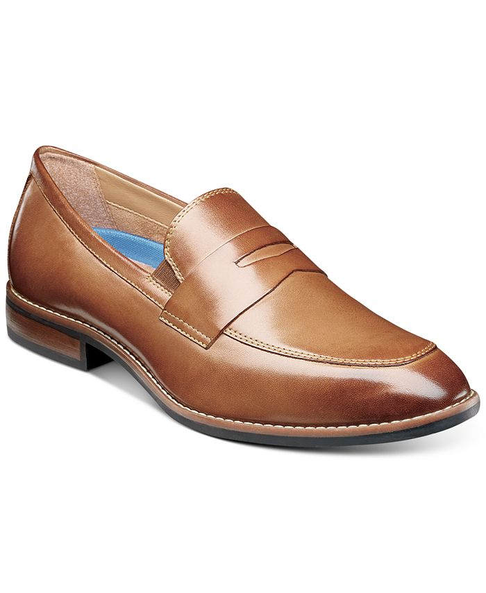 Nunn Bush - Men's Fifth Avenue Moc-Toe Slip-On Loafers