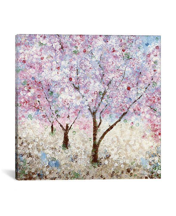 "iCanvas Cherry Blossom Festival Ii by Katrina Craven Wrapped Canvas Print - 37"" x 37"""