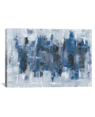 Midtown Moonlight by Emma Bell Wrapped Canvas Print - 18