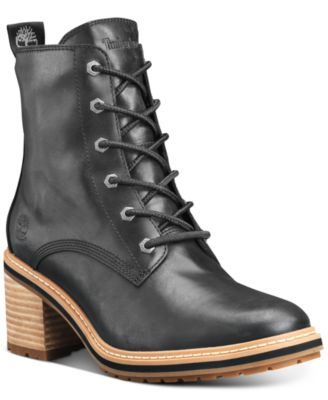 Sienna High Lace-Up Waterproof Boots