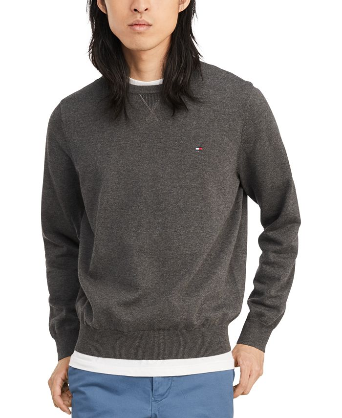 Tommy Hilfiger - Men's Signature Solid Sweater