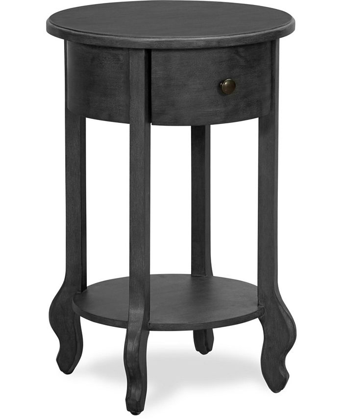 Finch - James Round Side Table, Quick Ship