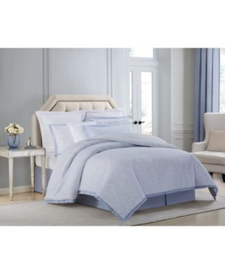 CLOSEOUT! Settee Cotton Printed Queen 4 Piece Comforter Set