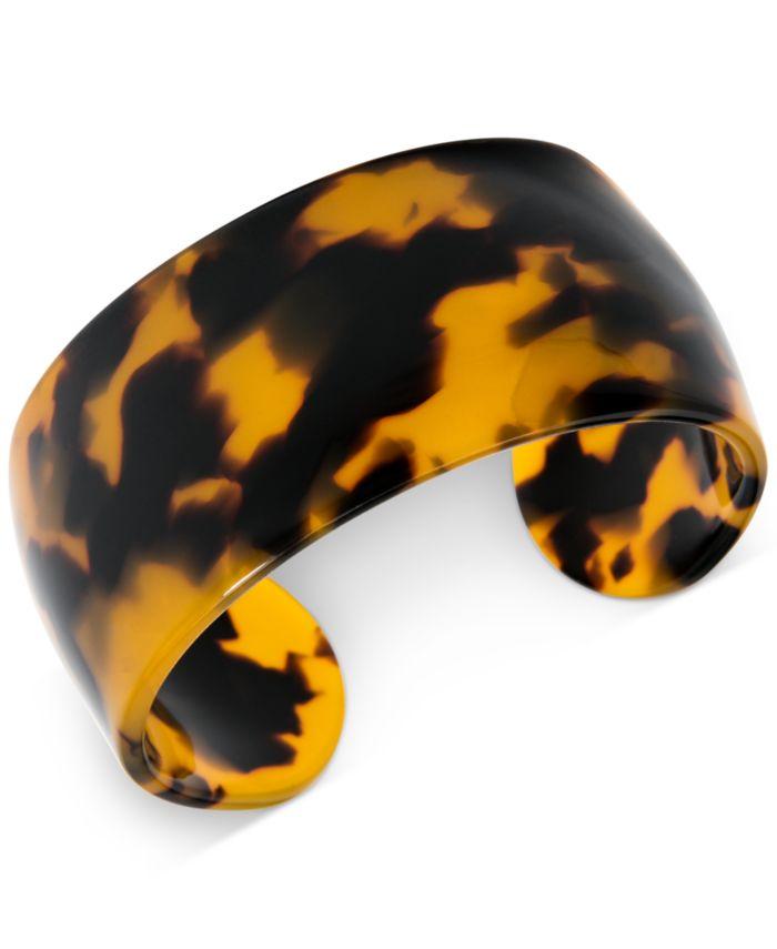Zenzii Wide Acetate Cuff Bracelet  & Reviews - Bracelets - Jewelry & Watches - Macy's