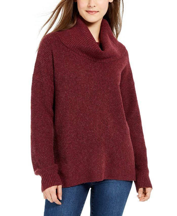 Hippie Rose - Juniors' Turtleneck Sweater