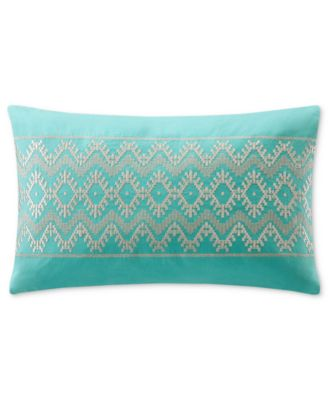 "Echo Mykonos 10"" x 16"" Decorative Pillow"