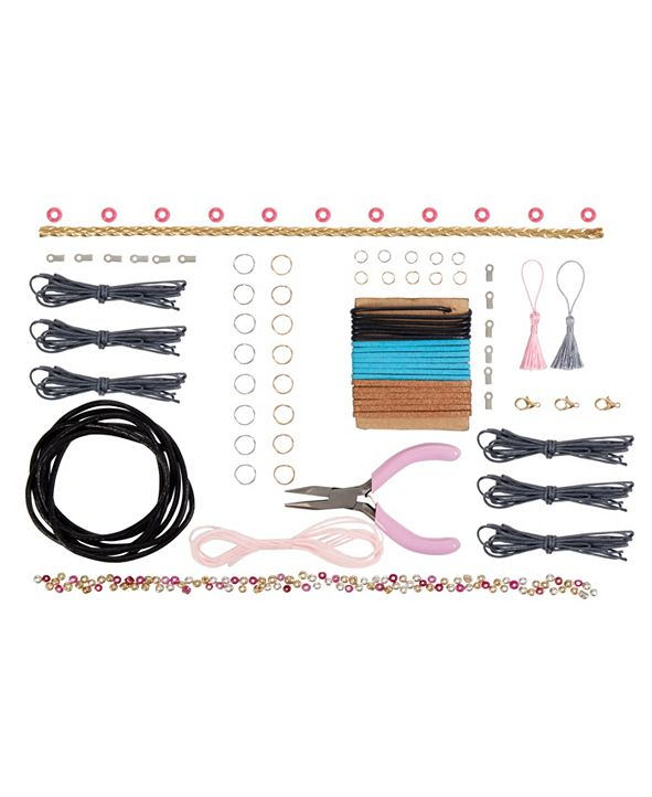 FAO Schwarz Kids DIY Craft Kits Leather Jewelry