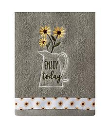 Saturday Knight Ltd Enjoy Today 2 Piece Hand Towel Set