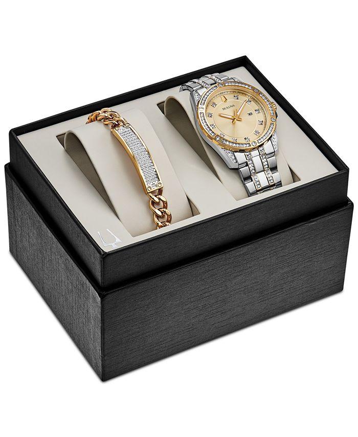 Bulova - Men's Two-Tone Stainless Steel Bracelet Watch 42mm